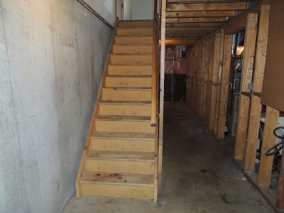 Stairs- Before
