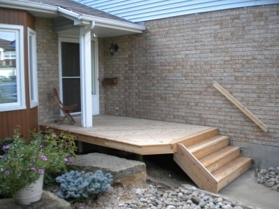 Front Porch / Deck - After