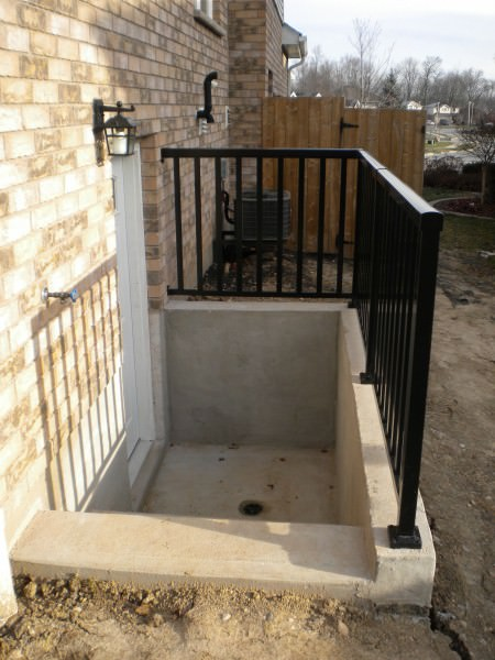 Exterior Stairs/Door - After