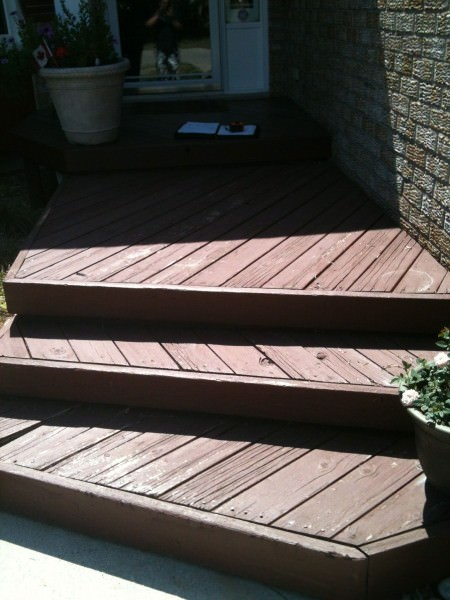 Front Porch / Deck - Before