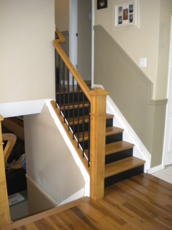 Stairs & Railing- After